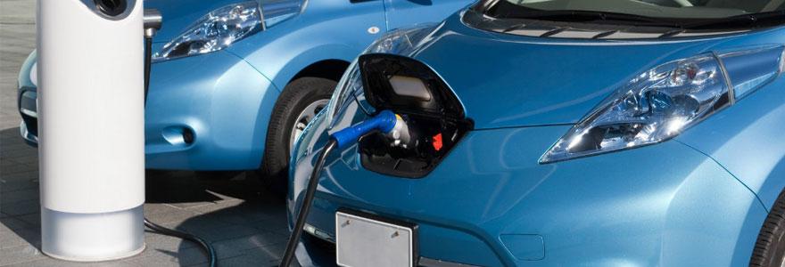 recharge de véhicules électriques