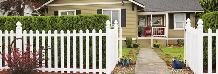 clôture en grillage rigide