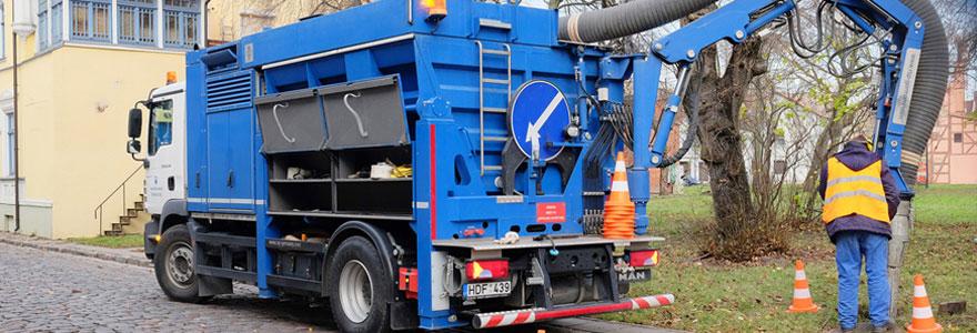 Service d'hydrocurage
